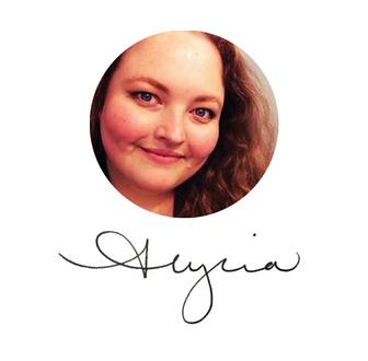 Alycia Yerves headshot and signature