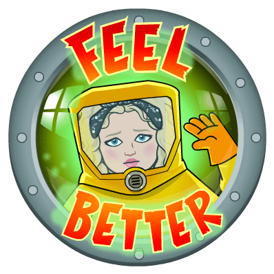 Alycia Yerves feel better quarantine emoji