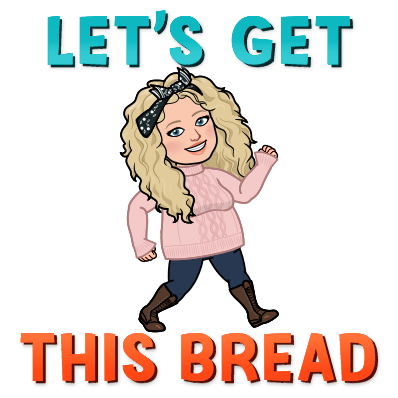 Let's Get This Bread Alycia Yerves bitmoji