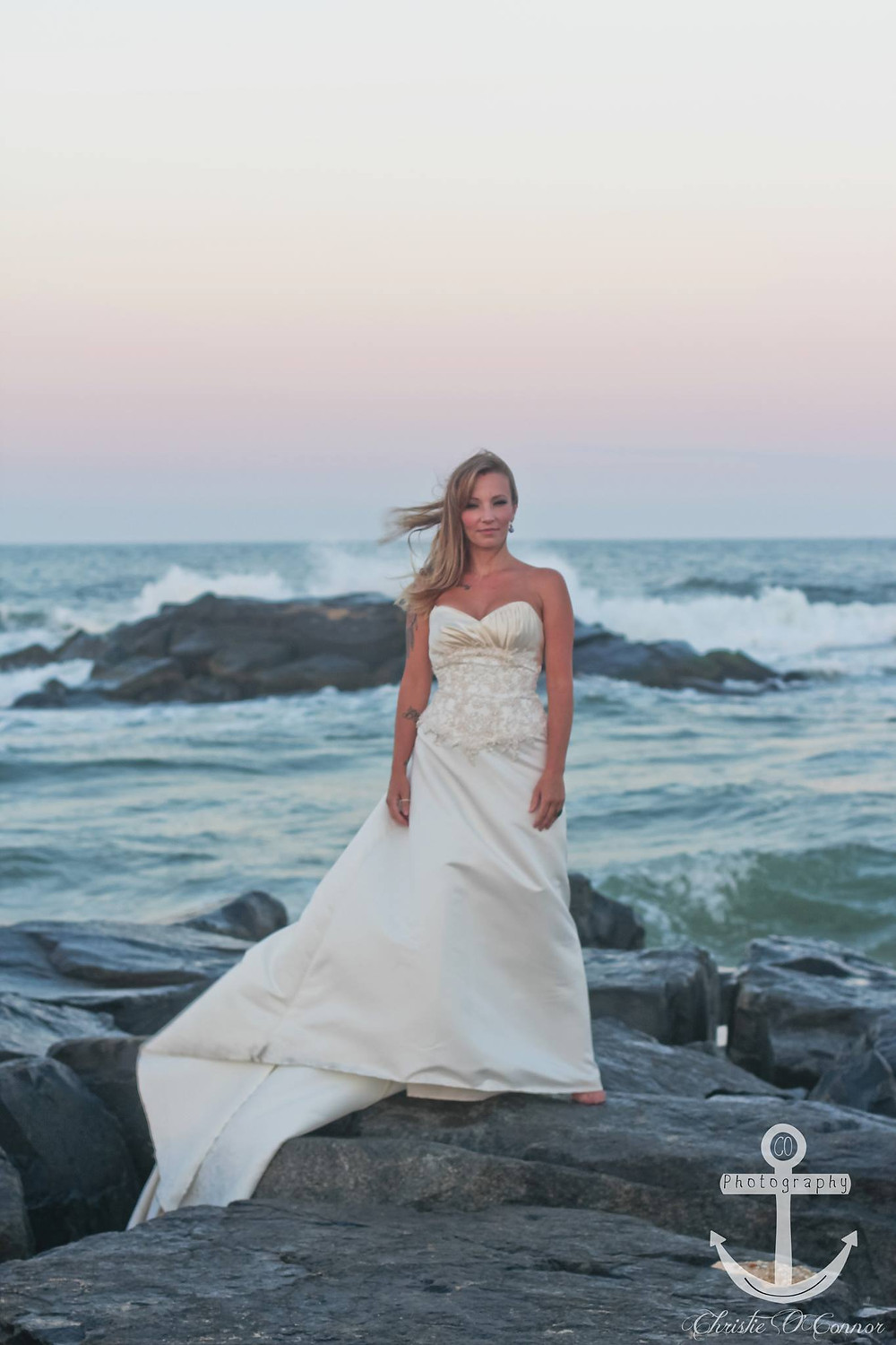 A picture Christie took of a bride