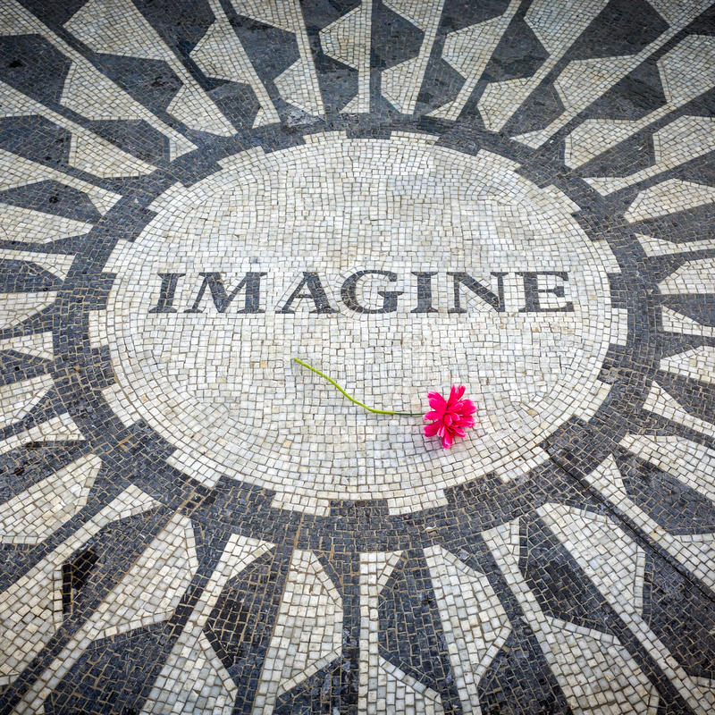 Imagine art with flower on it