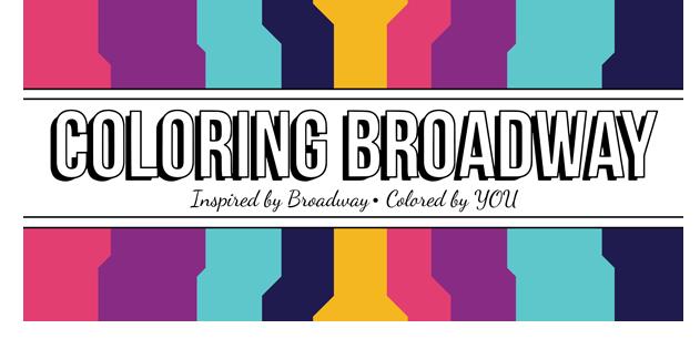 Coloring Broadway logo