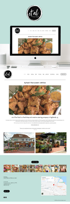 et al fine food - website refresh