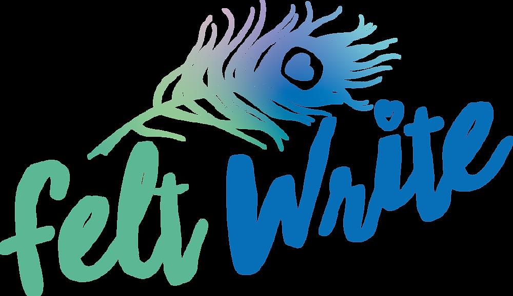 felt write logo