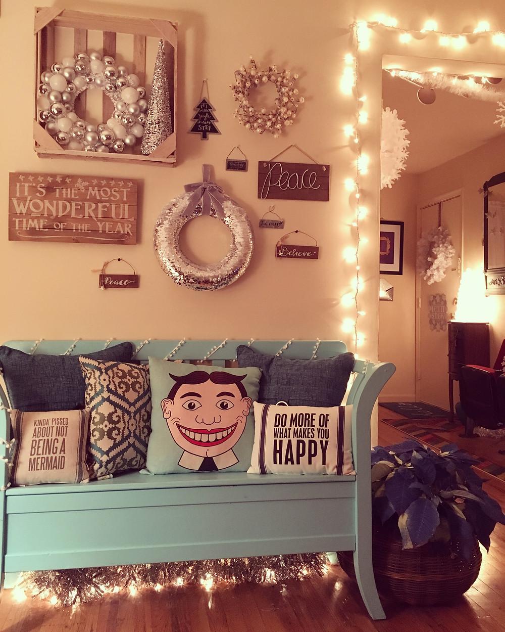 Alycia Yerves home Christmas decor