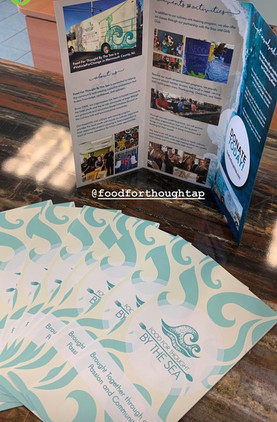 Food For Thought By The Sea - brochure