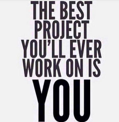 The best project you'll ever work on is you quote image
