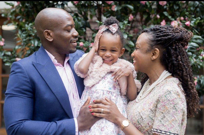 Happy black family from Imagine Me Stories