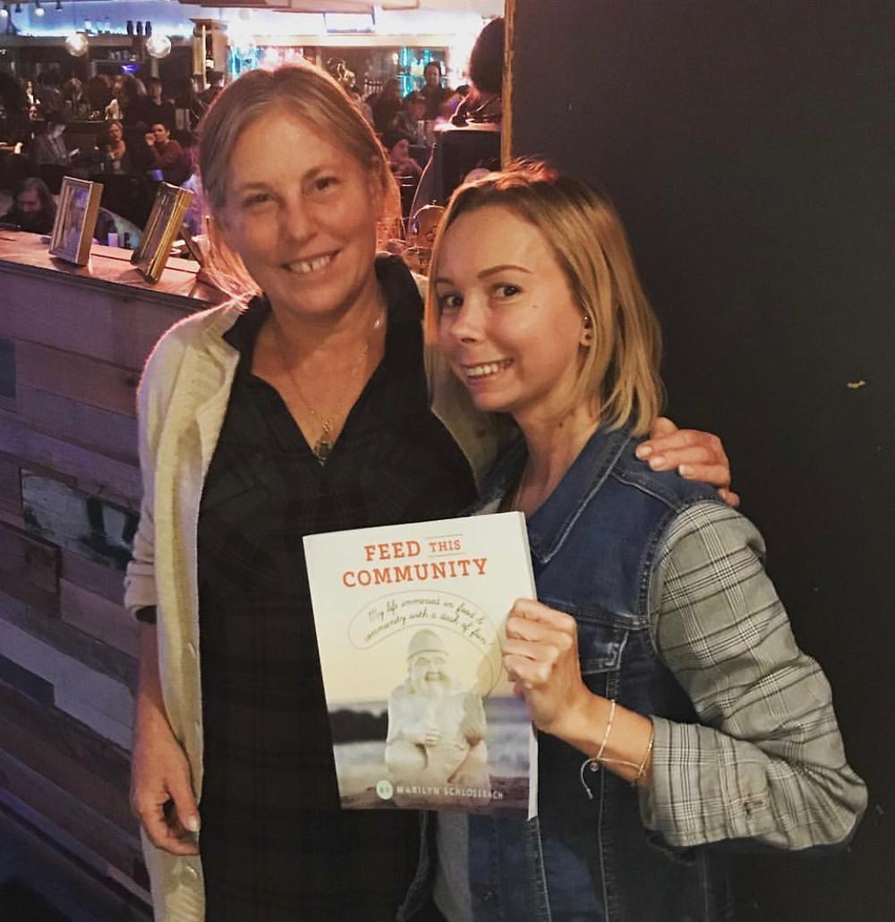 Marilyn Schlossbach & Nicole Salvatore