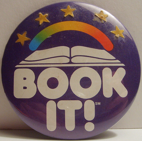 book it badge