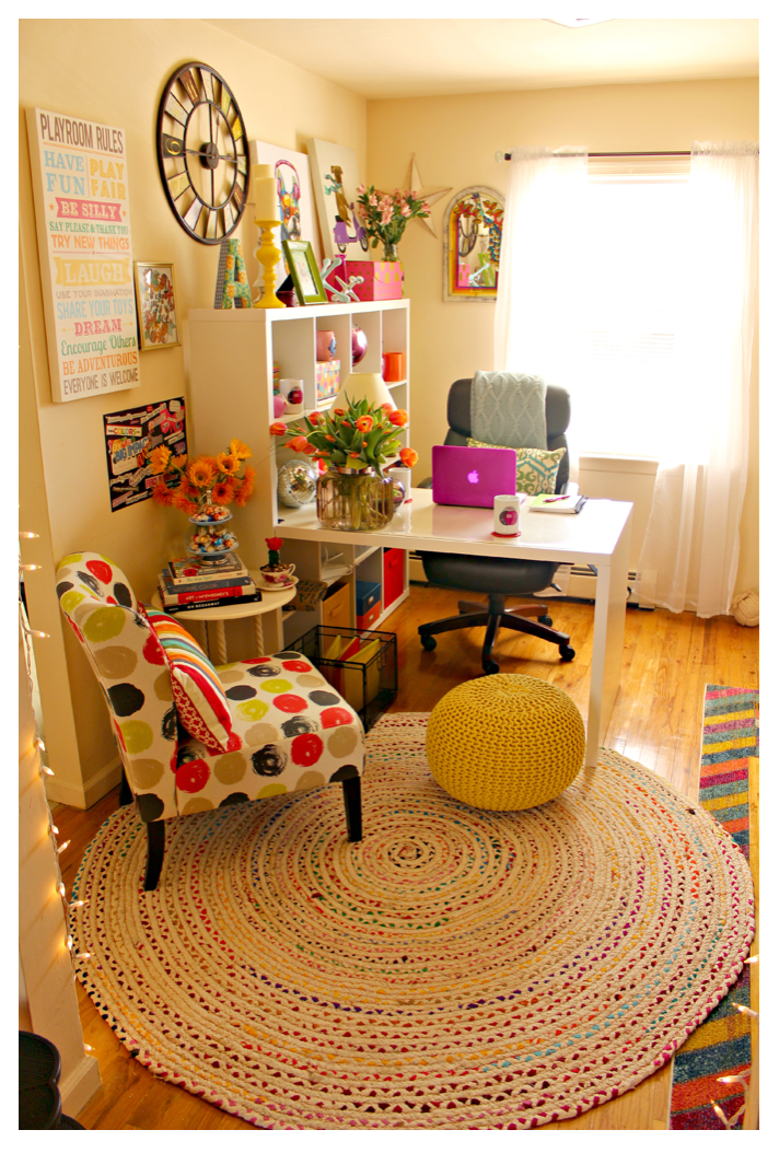 Alycia Yerves Creative home office