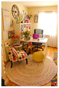 Alycia Yerves Creative home office