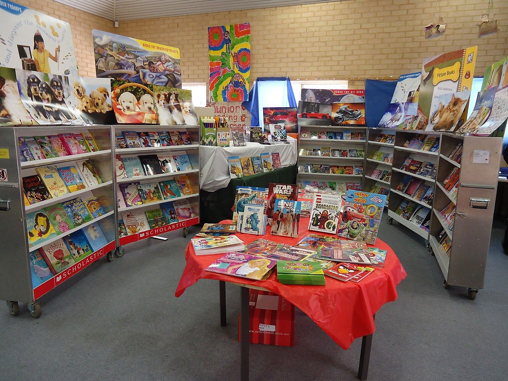 Picture of a book fair