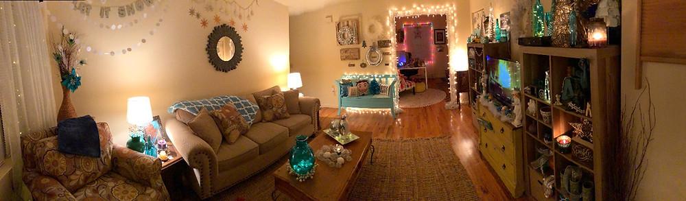 Alycia Yerves home Christmas decor 2017