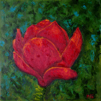 Marina Lisovaya - Magnolia | 40 x 40