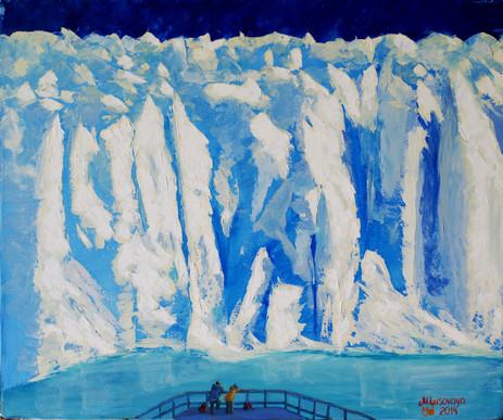 Marina Lisovaya - Perito Moreno | 60 x 50