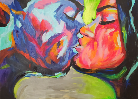 Artor Die - Kiss | 100 x 120