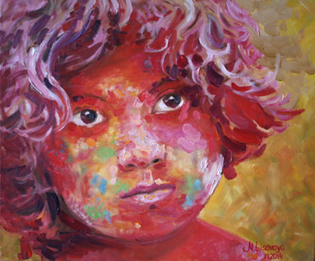 Marina Lisovaya - The Boy Holi | 60 x 50