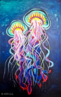 Artor Die - Jellyfish | 90 x 150