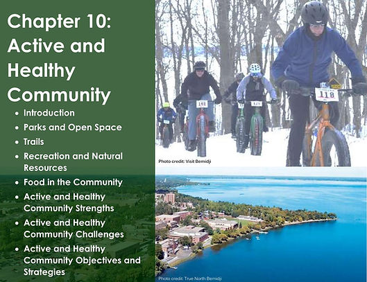Chapter 10 Active and Healthy Community.
