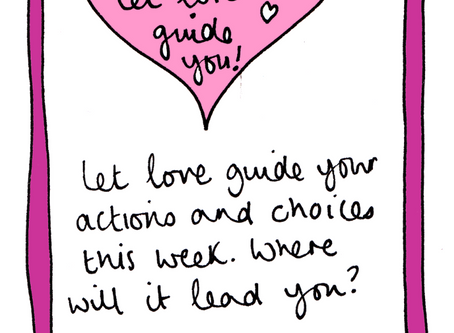 Let love guide you - selfcare invite 26 November 2018