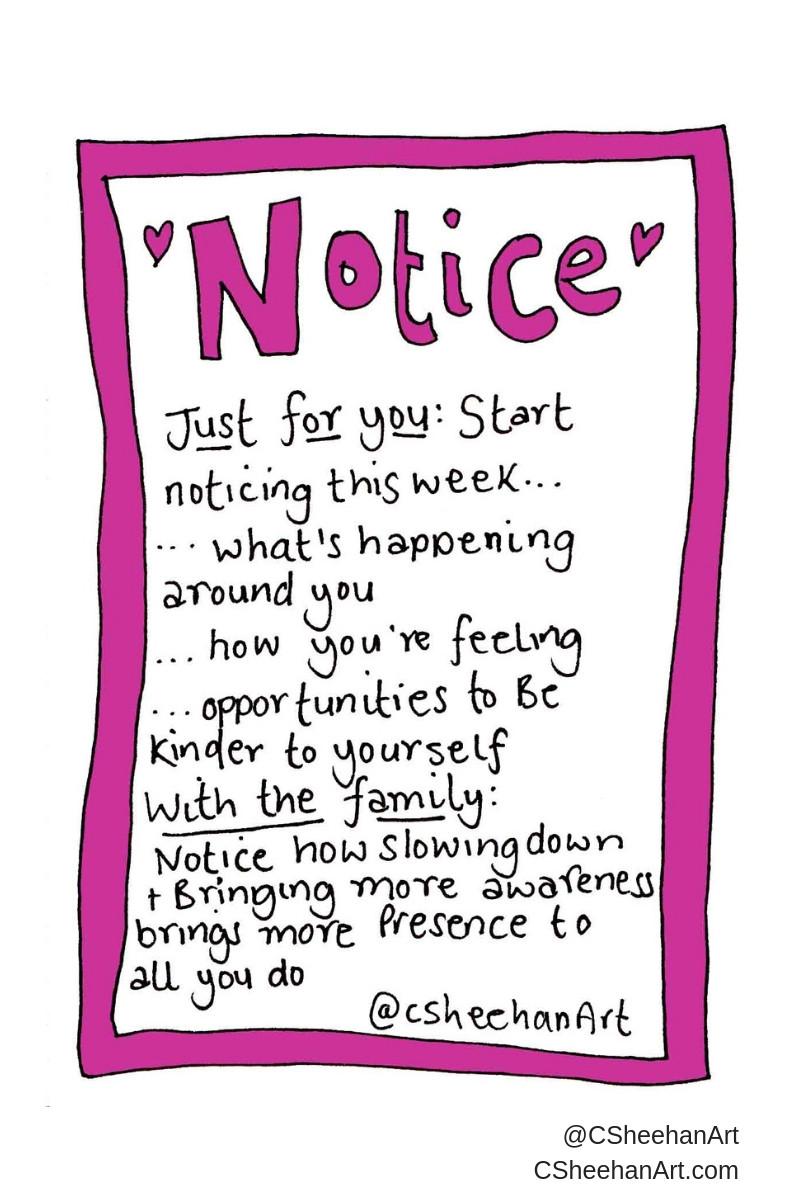 CSheehanArt Selfkindness Invite Noticing