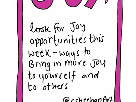 Choosing JOY - selfcare invite 19 November