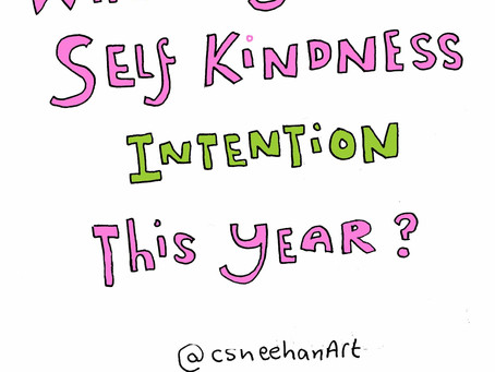 Are you setting an intention for your self kindness this year?