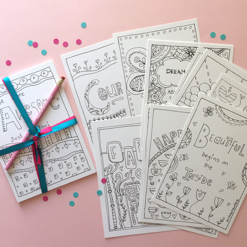 LIB colouring pages