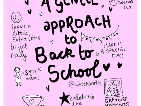 Transitioning from holiday mode to Back to School with Love and Grace