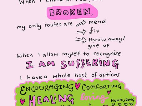 Not broken, just human - self compassion and anxiety