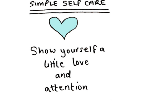 Simple selfcare - just start