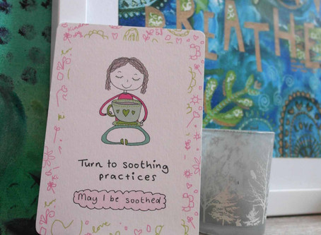 Turn to soothing practices - weekly self kindness invite