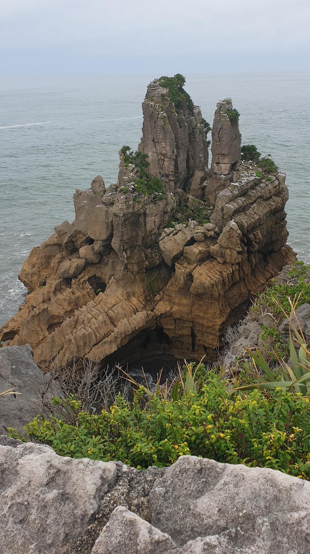 The remarkable Pancake Rocks