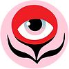 Stephanie Eichelberger eyeball flower logo