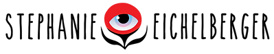 Stephanie Eichelberger red eyebal flower logo