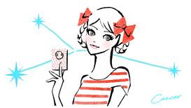 【WORK】主婦の友社 Raywebサイト「毎日12星座占い」