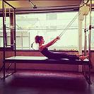 ピラティスマシン、キャデラック。_自分をみつめる優雅な時間。_,_,_,_ #ピラティス #pilates #ヨガ #yoga_#シルクサスペンション #silksuspensio