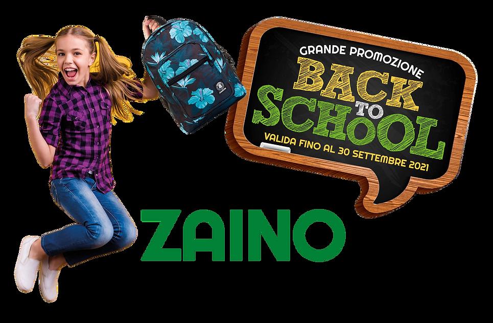 sconto 20 % promozione zaini Lineacarta Albenga