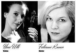 Nina Ulli Violine Fabienne Romer Klavier