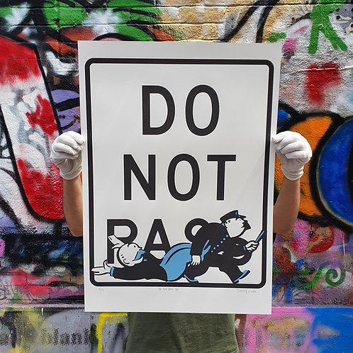 Do Not Pass Go (Blue)