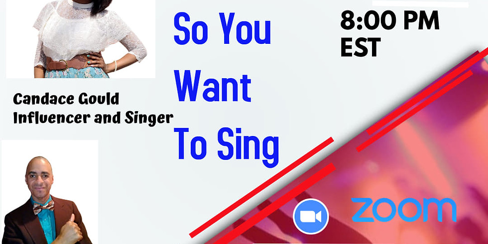 So You Want To Sing