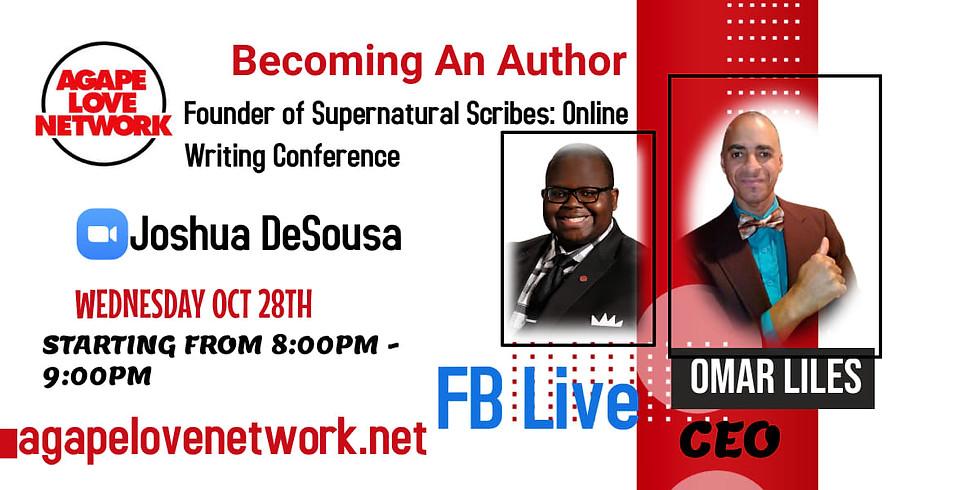Becoming An Author with Joshua DeSousa