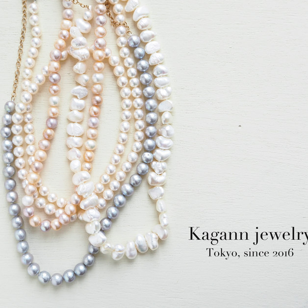 【K14gf】long pearl necklace