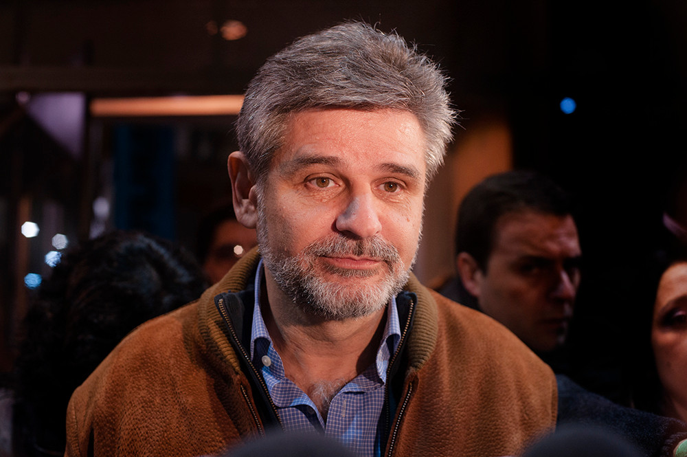Daniel Filmus, candidat du Frente para la Victoria à la Chambre de Buenos Aires, 2011