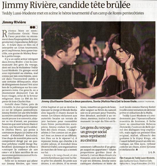 national diary, Le Monde, 2010