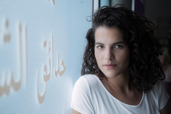Brune, actress, Paris (2016)