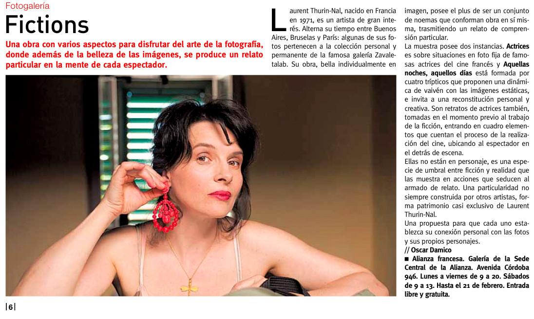 National diary Pagina 12 (Buenos Aires, 2012)