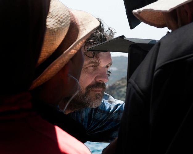 Emir Kusturica sur le tournage de NICOSTRATOS