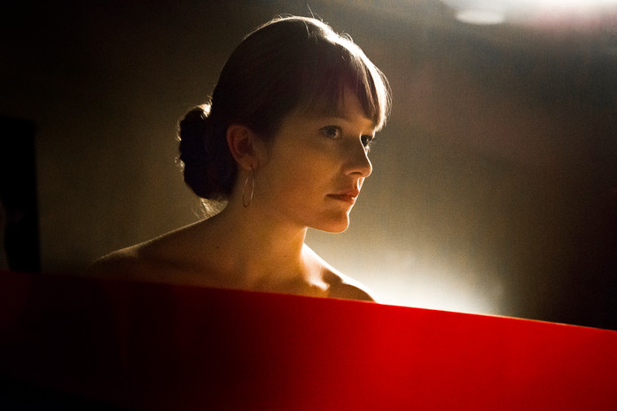 Elisa Rushke, actress, Brussels 2014